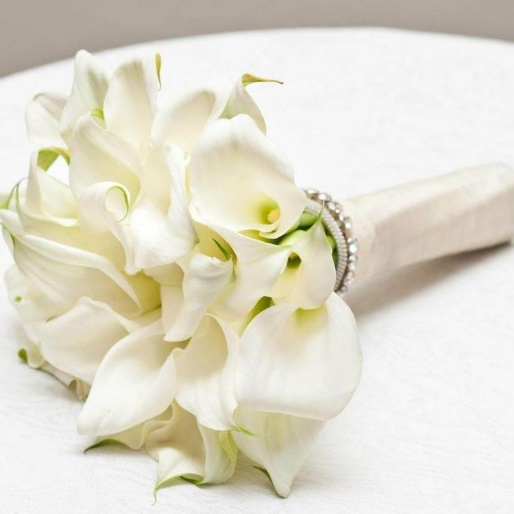 Классический свадебный букет